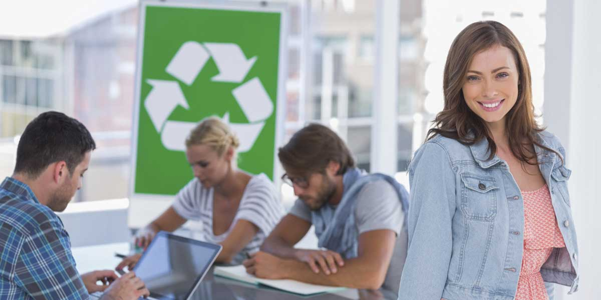 Are you living green at work?