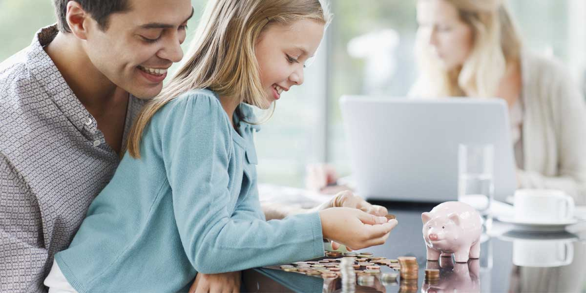 Six creative ways to teach your kids about money