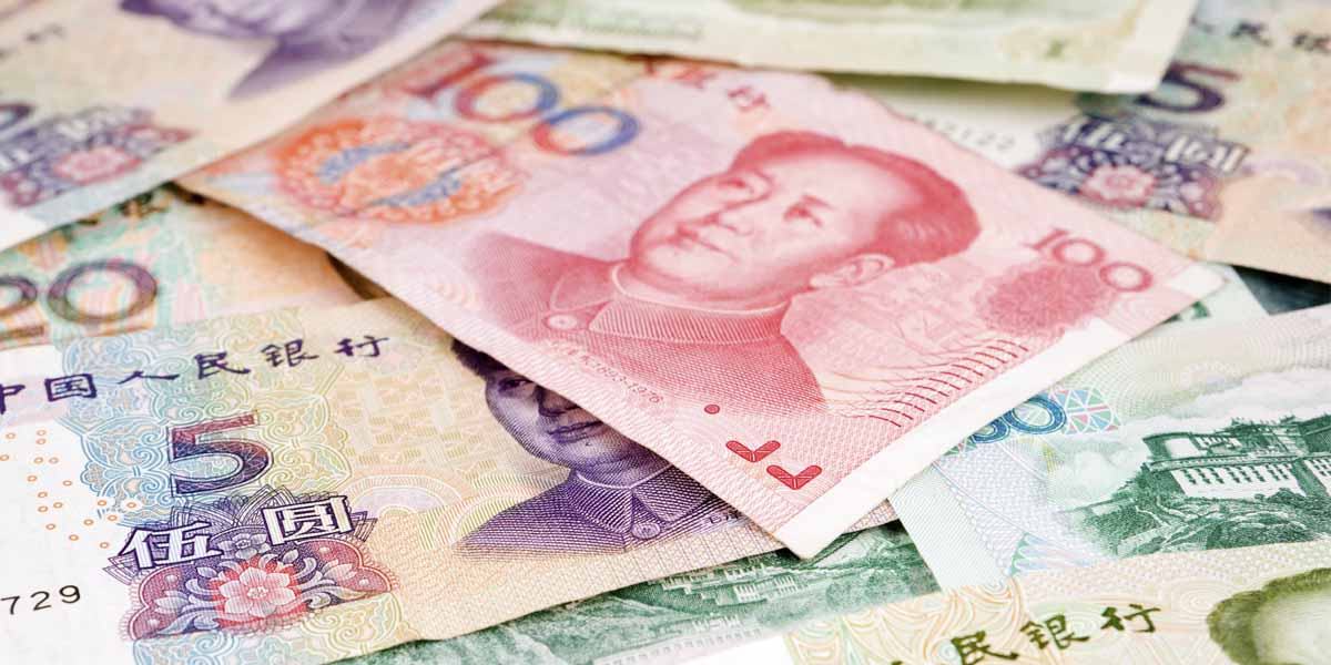 Dramatic drop in Chinese yuan