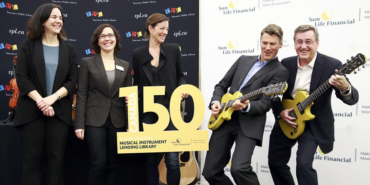Sun Life celebrates Canada's 150th with more music