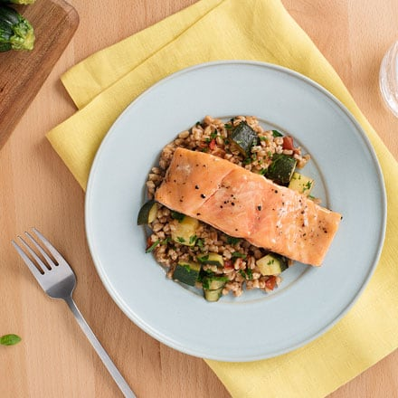 Mark McEwan's mustard sun-glazed salmon (Video)