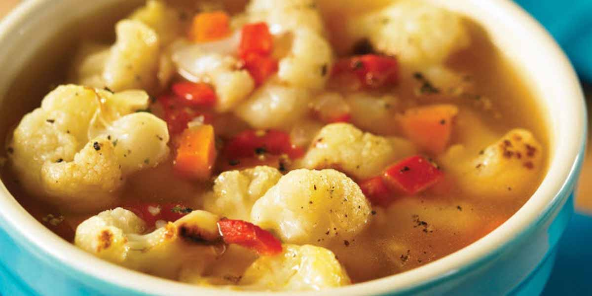 Healthy recipe: Roasted cauliflower and red pepper soup | Sun Life ...