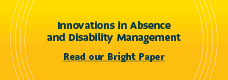 Innovations in Absence and Disability Management